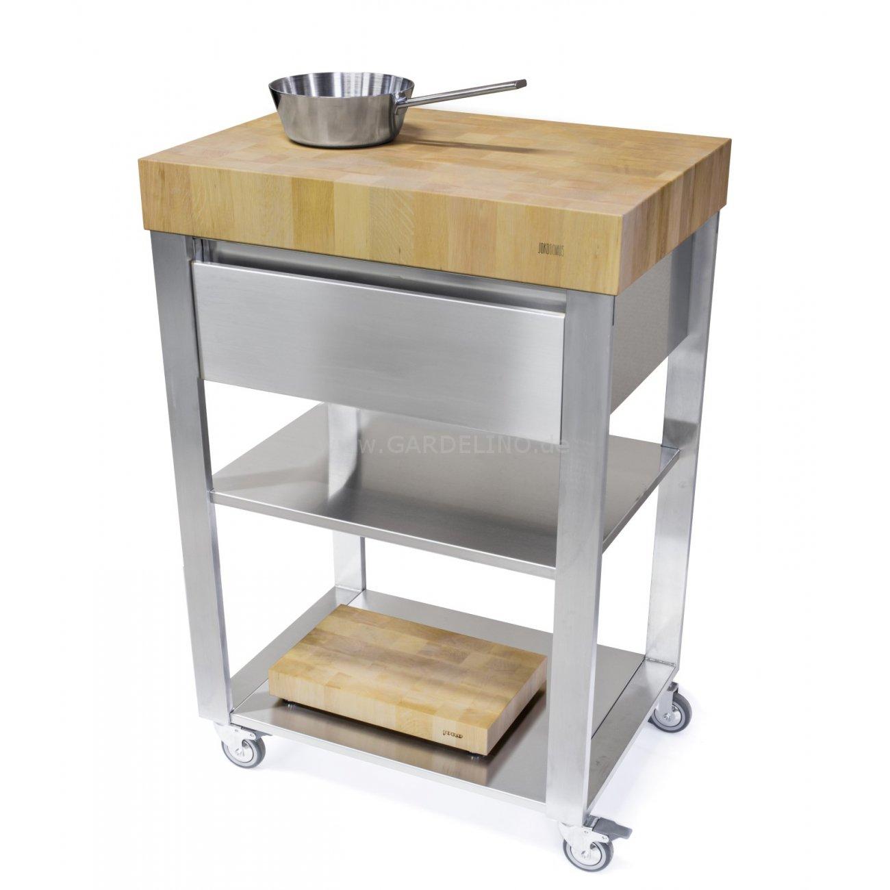 Küchenwagen Aus Holz: Schubladen