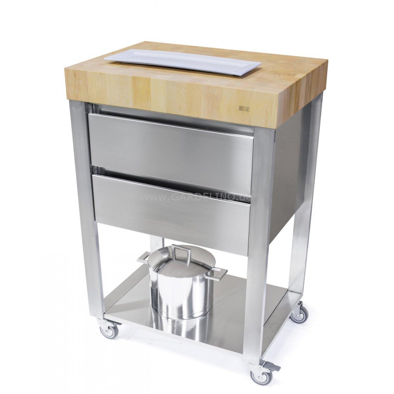 Küchenwagen Mit Schubladen : joko domus cun k chenwagen mit zwei schubladen ~ Whattoseeinmadrid.com Haus und Dekorationen