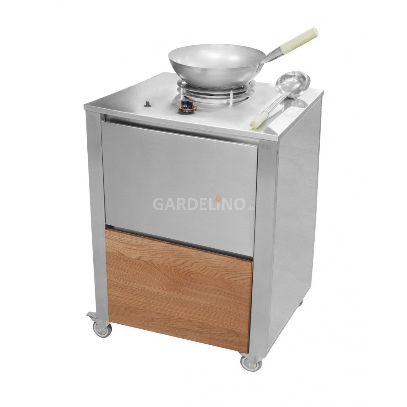 Küchenwagen  joko domus CUN kitchen Wok Küchenwagen
