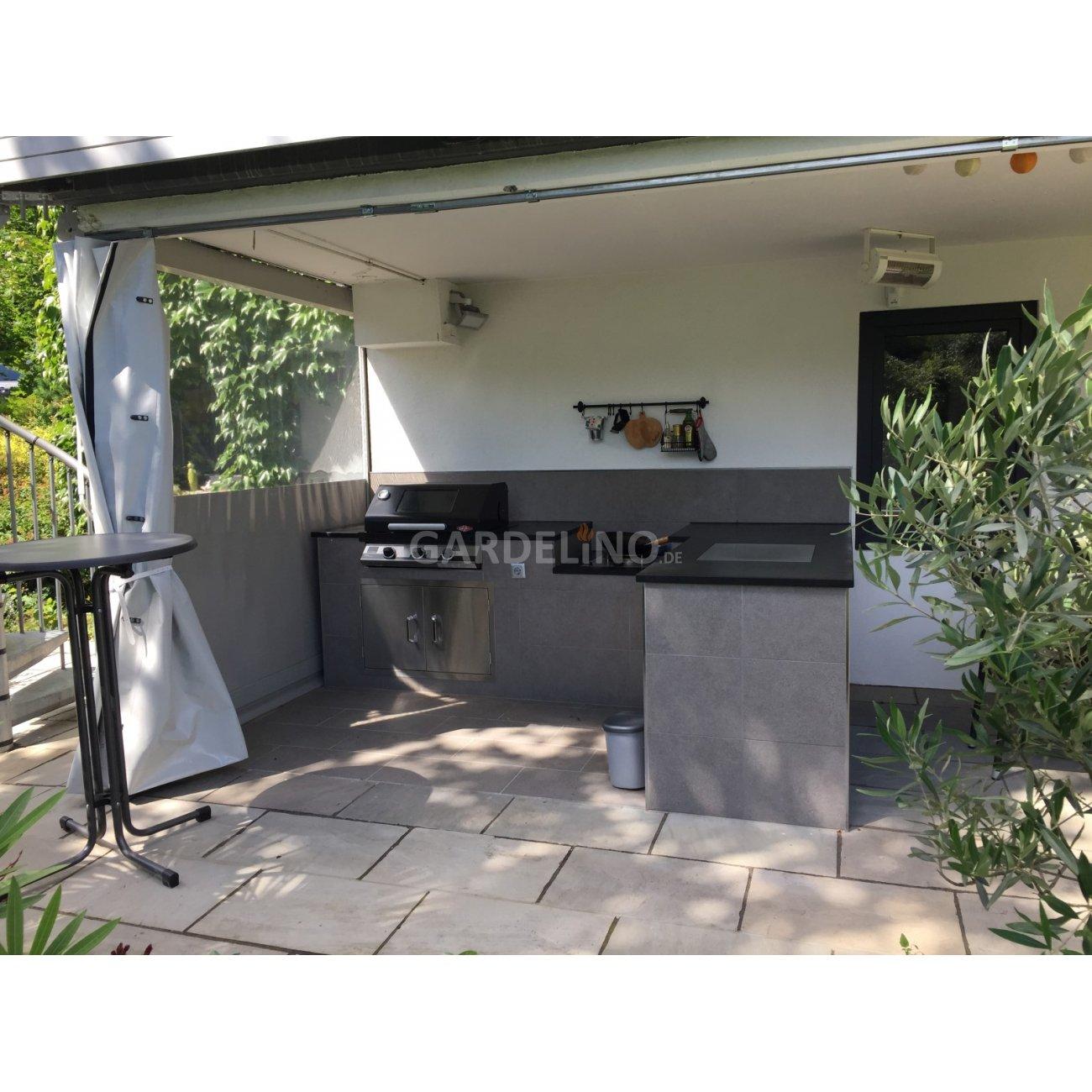 Aussenküche Gemauert kompakte beefeater außenküche auf der veranda
