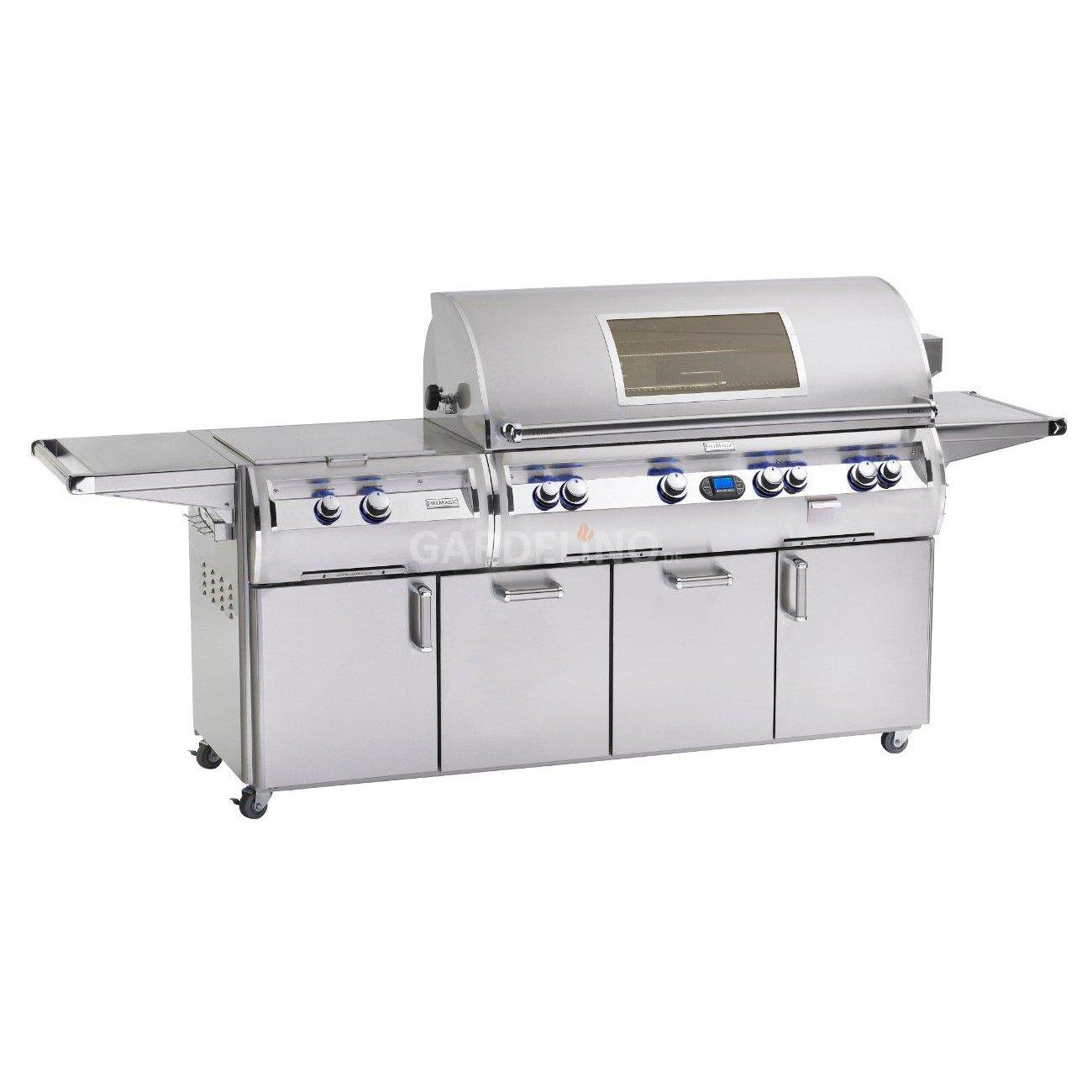 Bull Outdoor Kitchen Luxus Gasgrill Station Fire Magic Echelon E1060s