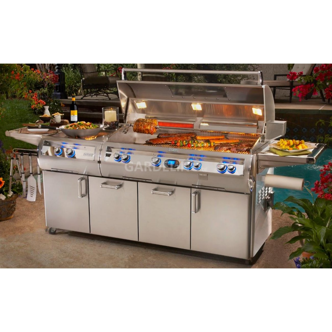 Luxus Gasgrill Station Fire Magic Echelon E1060s