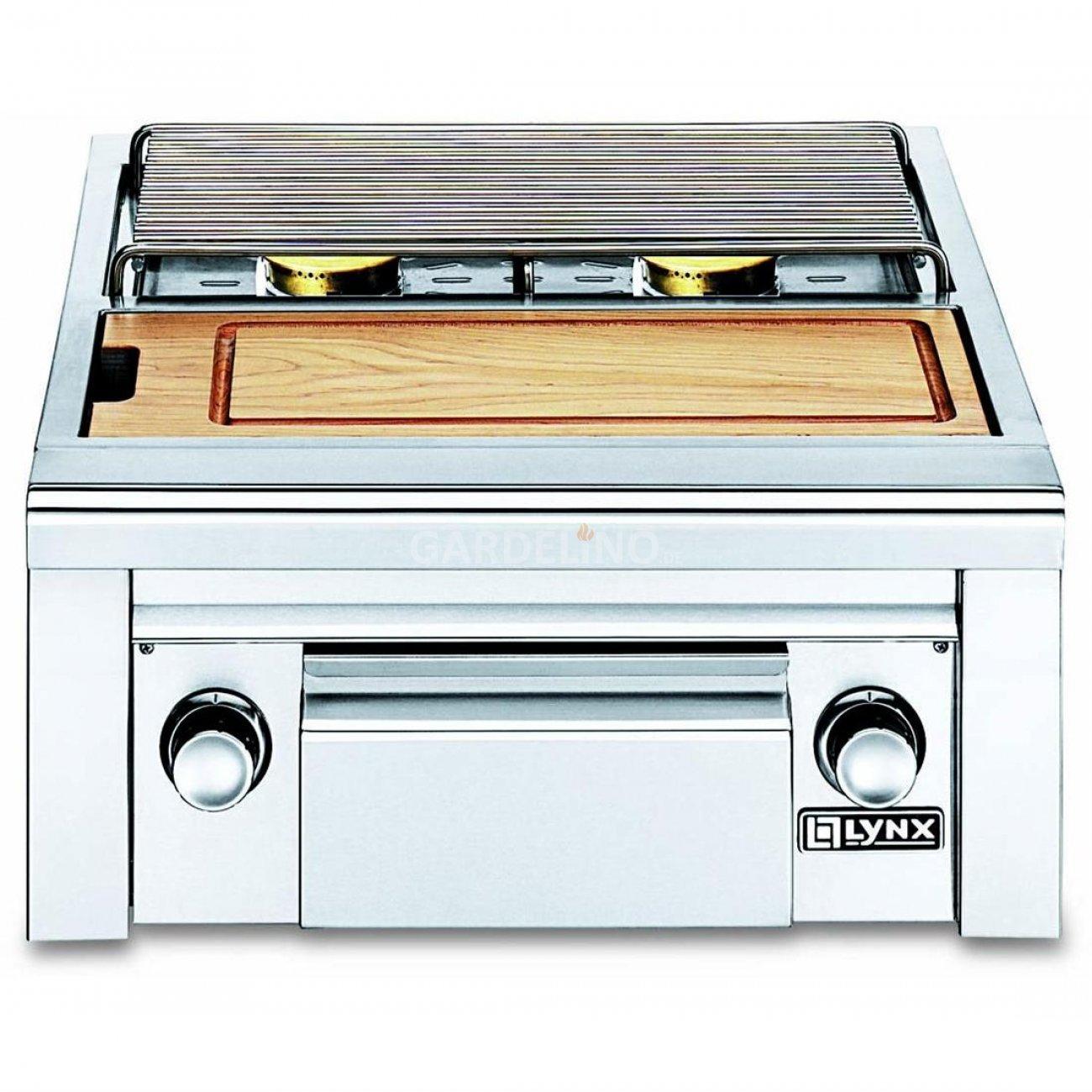 lynx grill premium seitenbrenner f r die au enk che. Black Bedroom Furniture Sets. Home Design Ideas