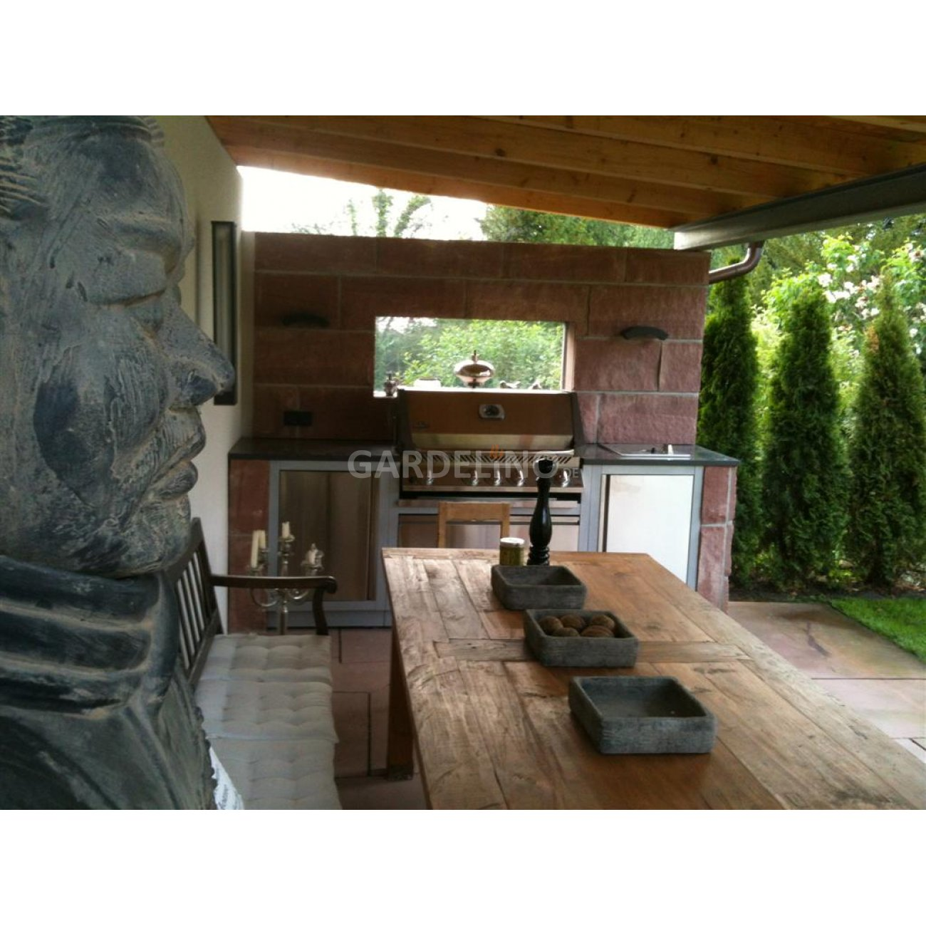 napoleon outdoork che oasis konfigurator. Black Bedroom Furniture Sets. Home Design Ideas