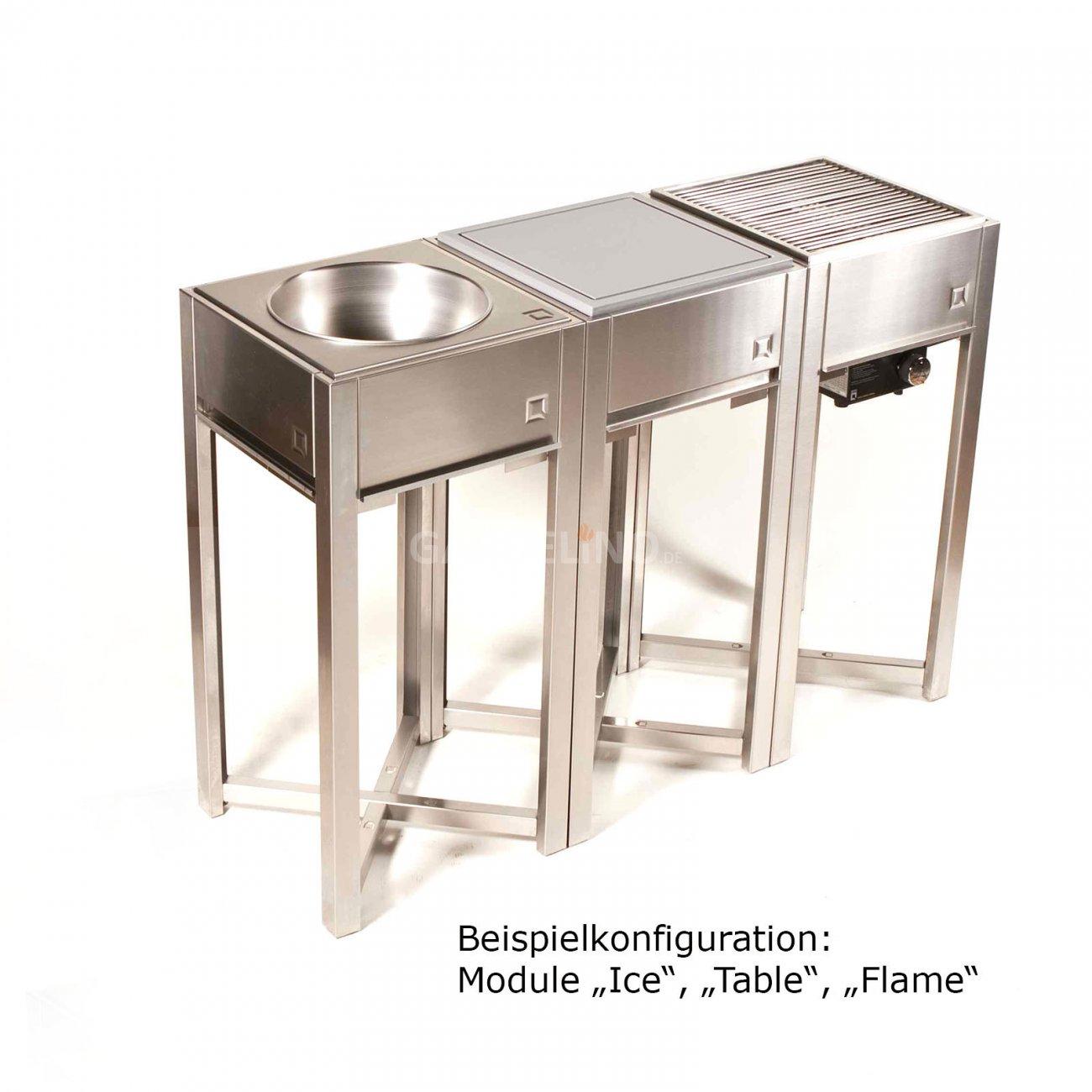 Berühmt Edelstahl Außenküche Schranktüren Bilder - Ideen Für Die ...