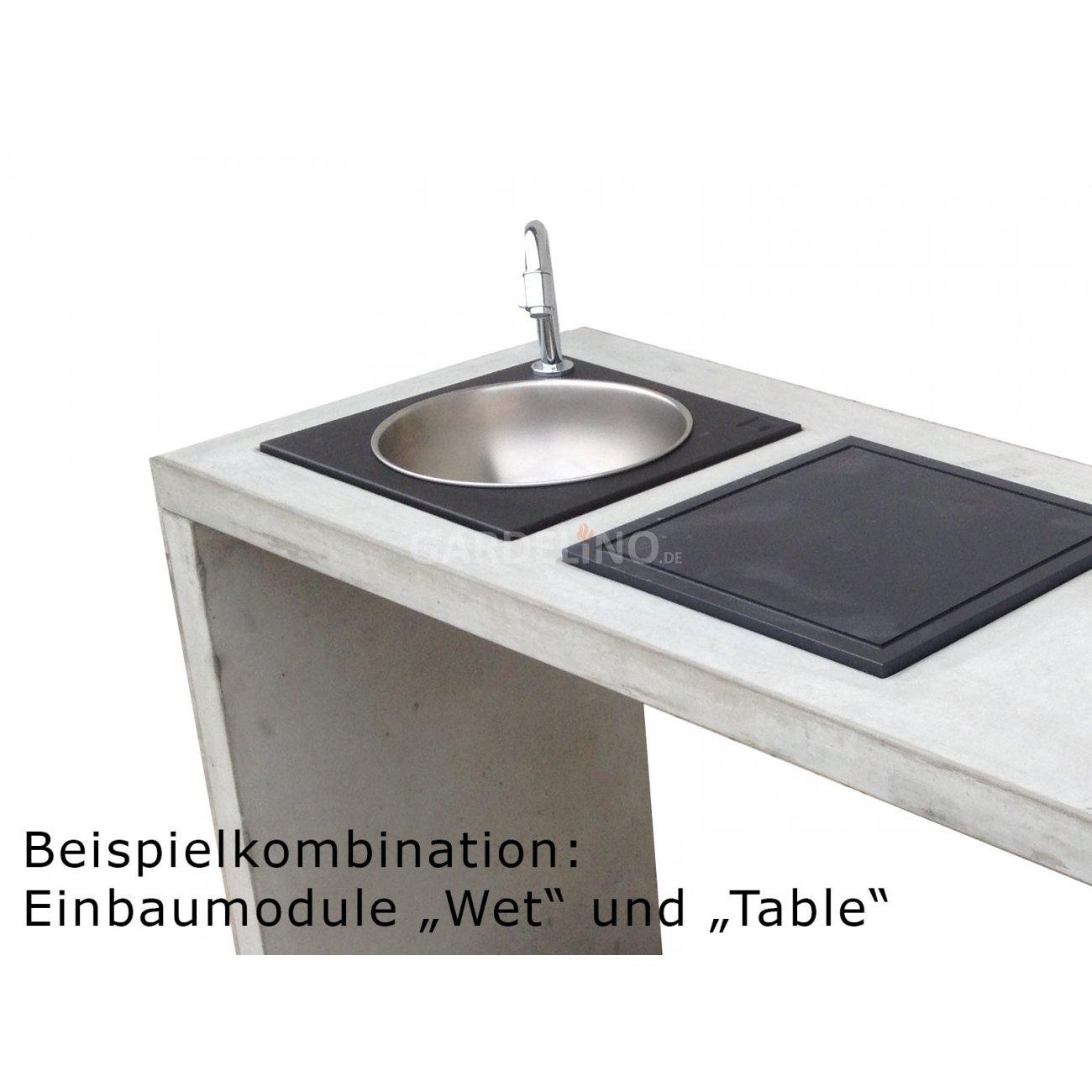 """oneQ Einbau Spüle """"Wet"""""""