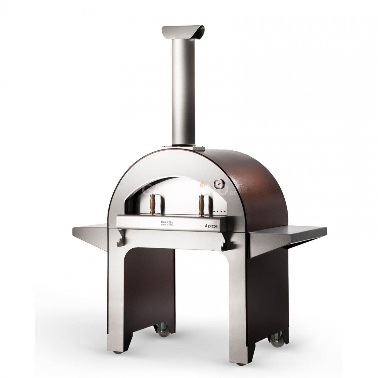 edler pizza holzofen f r den garten 4 pizze von al. Black Bedroom Furniture Sets. Home Design Ideas