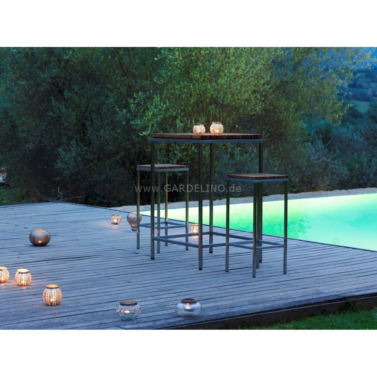 Gartenmobel Outlet Polyrattan : Viteo Home Teak Edelstahl Design Gartenmöbel