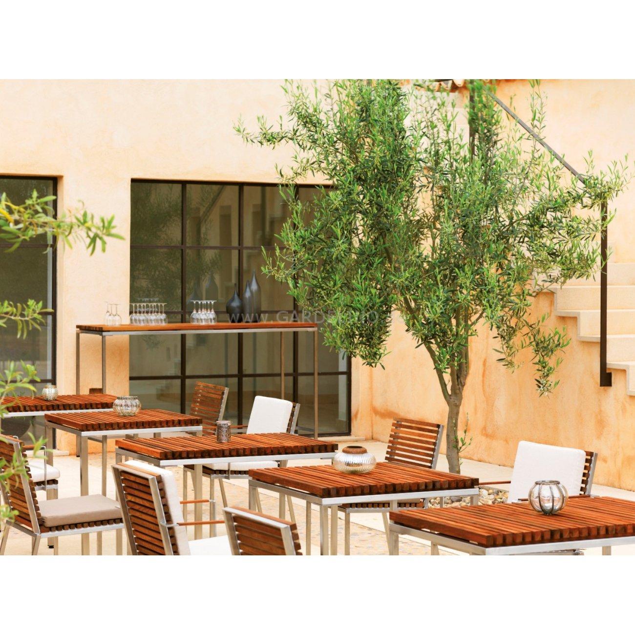 Gartenmobel Aus Holz Saubern : Gartenliegen Aus Teak Und Edelstahl Pictures to pin on Pinterest