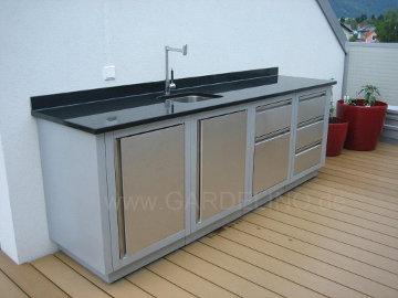 Outdoor Küche Edelstahl Türen : Napoleon oasis gartenküchen unterschrank