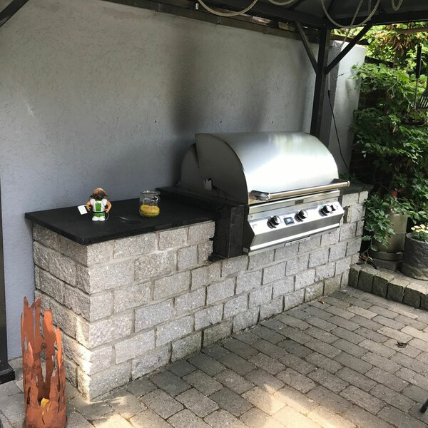Fire Magic Grillstation mit Überdachung