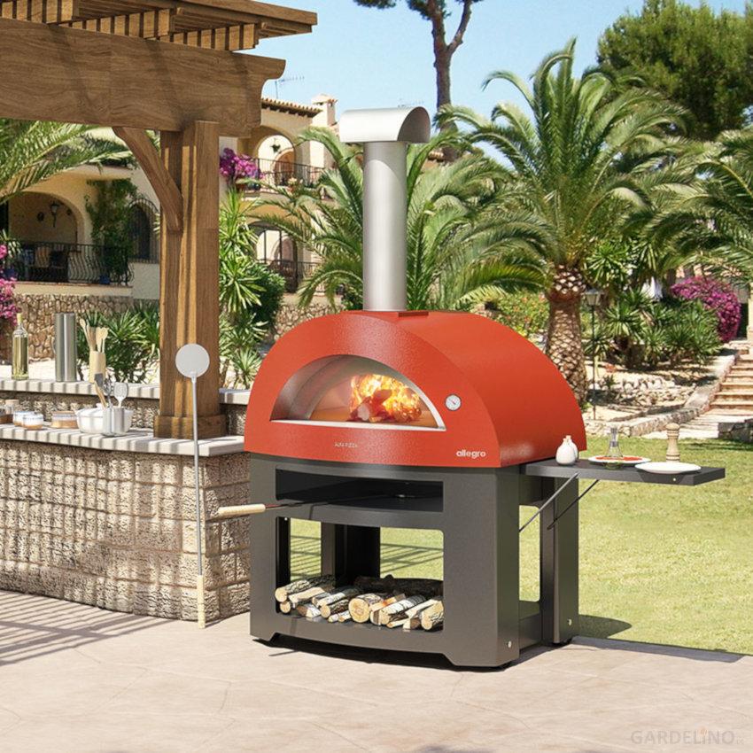 Pizzaofen Gas Garten - Garten Design Idee Fotos