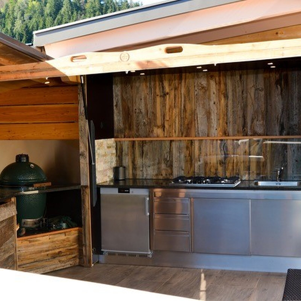 outdoor k che bauen mit wolfgang stani villach klagenfurt. Black Bedroom Furniture Sets. Home Design Ideas