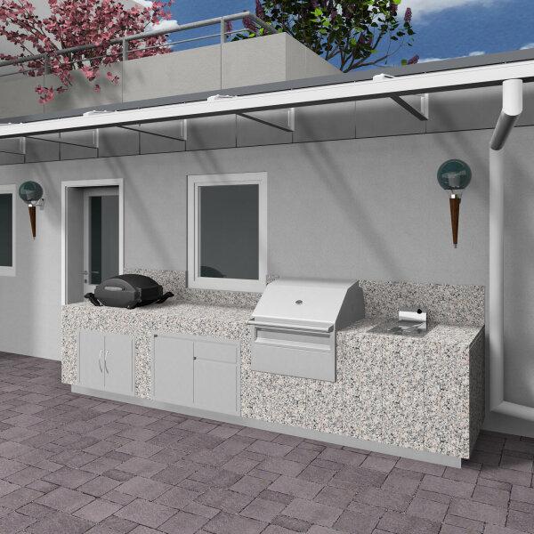 Outdoor Küche bauen mit Schulz Kachelöfen - Rastatt