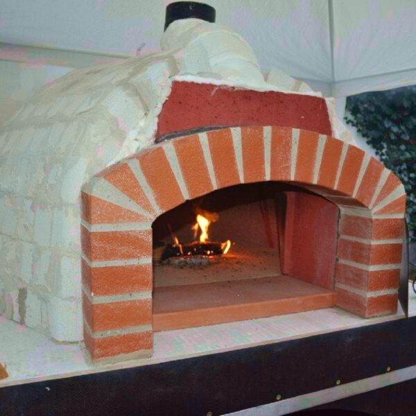 pizzaofen bausatz f r den garten. Black Bedroom Furniture Sets. Home Design Ideas