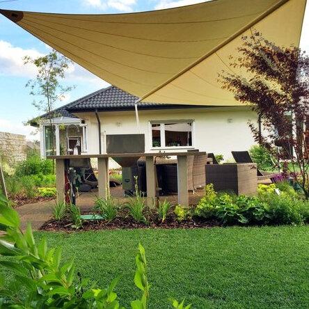Baubericht Outdoorküche mit Holzkohle Einbaugrill von Thüros