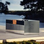 Röshults Outdoor Kitchen Island modulare Outdoorküche