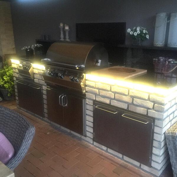 Fire Magic Außenküche in schickem Design