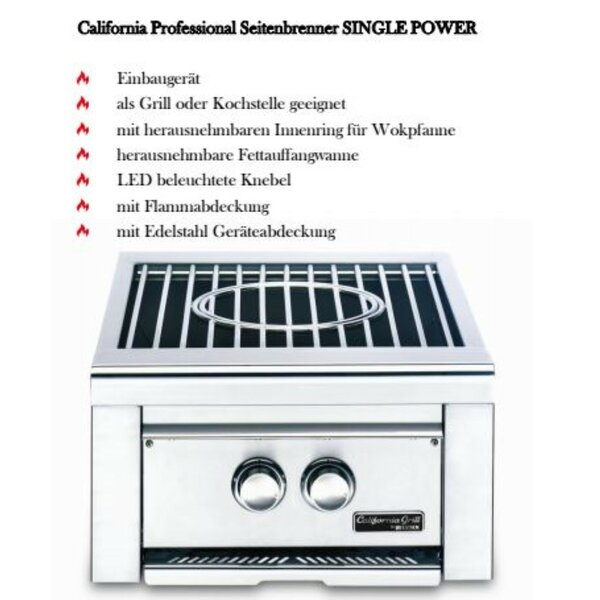 Lynx Grill California Professional Power Seitenbrenner single