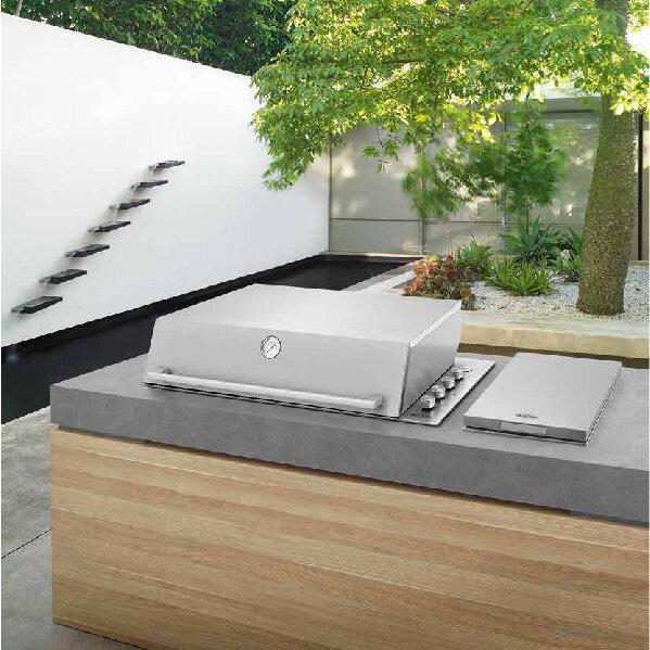 design einbau gasgrill signature proline von beefeater. Black Bedroom Furniture Sets. Home Design Ideas
