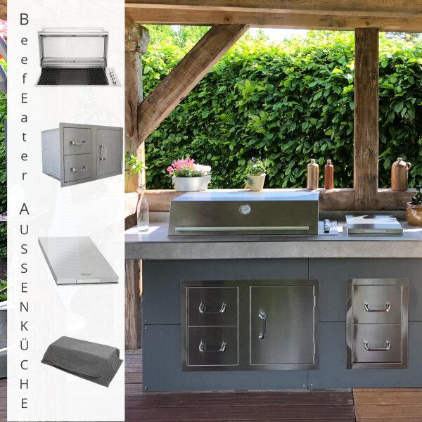 Eine Außenküche selbst bauen: passende Geräte