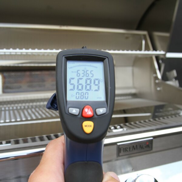 Fire Magic Grilltest - Erfahrungsbericht Grill Temperatur