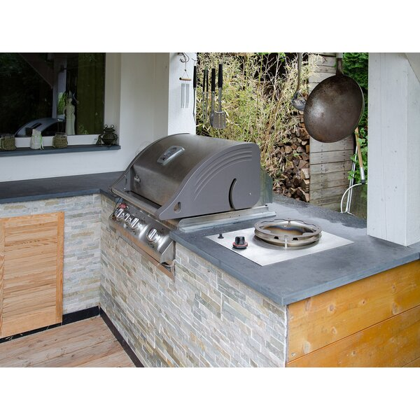 Gasbrenner outdoor kuche for Outdoorkuche mit gasgrill