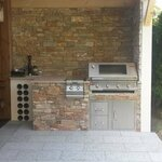 Grillstation mit BeefEater Grill